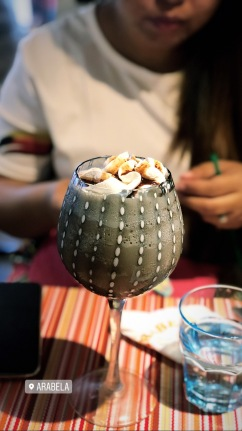 Café Mocha that will make you feel guilty of ruining its beauty!